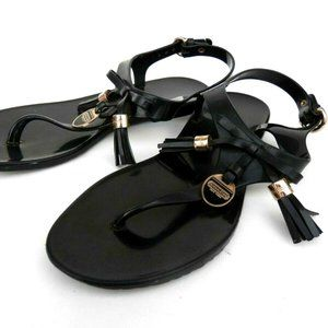 Coach Jelly Flat Flip-Flop Sandals Shoes